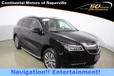 Certified Used Acura MDX 3.5L Technology Pkg w/Entertainment Pkg